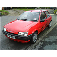 Ford Fiesta Mk3 Roll Cages